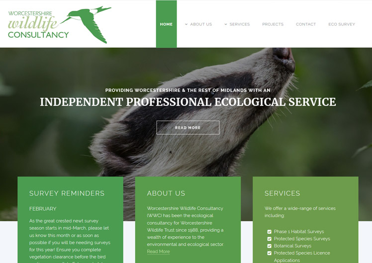 The Worcestershire Wildlife Consultancy